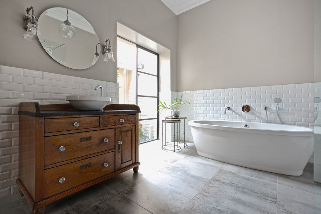 Oksijen Interiors - Saxonwold Bathroom